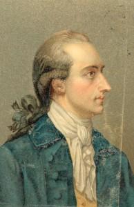 J.W. v. Goethe, by Oswald, 1779