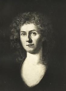 Corona Schröter, self-portrait, ca. 1780